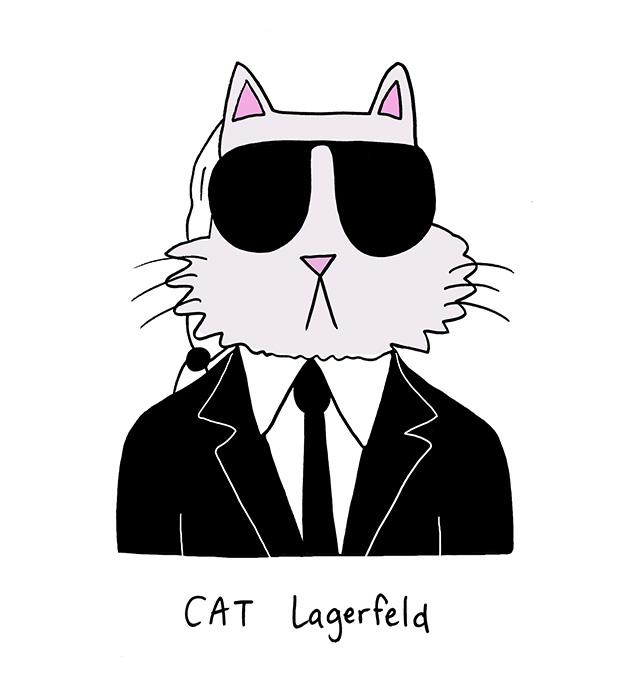 cat-lagerfeld