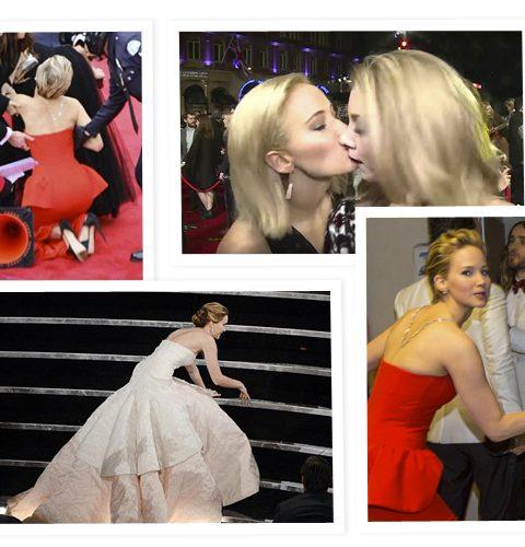 De beste rode loper blunders van Jennifer Lawrence