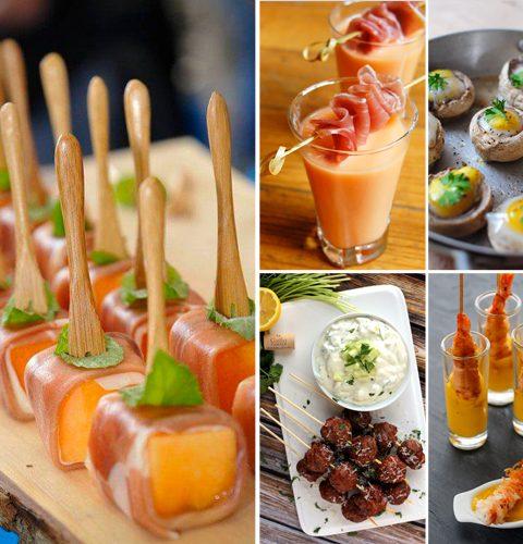 20 feestelijke aperitiefhapjes om iedereen te verbluffen