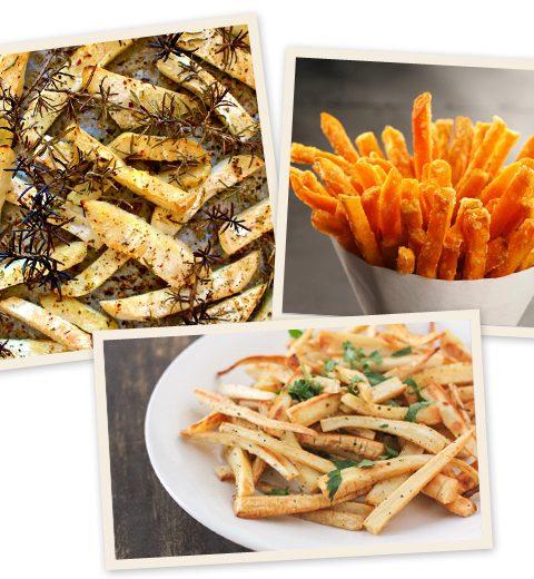 3 recepten voor gezonde frietjes