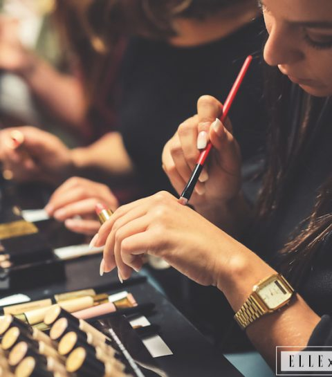 Beeldverslag: zo leuk was de make-up workshop van Yves Saint Laurent Beauté