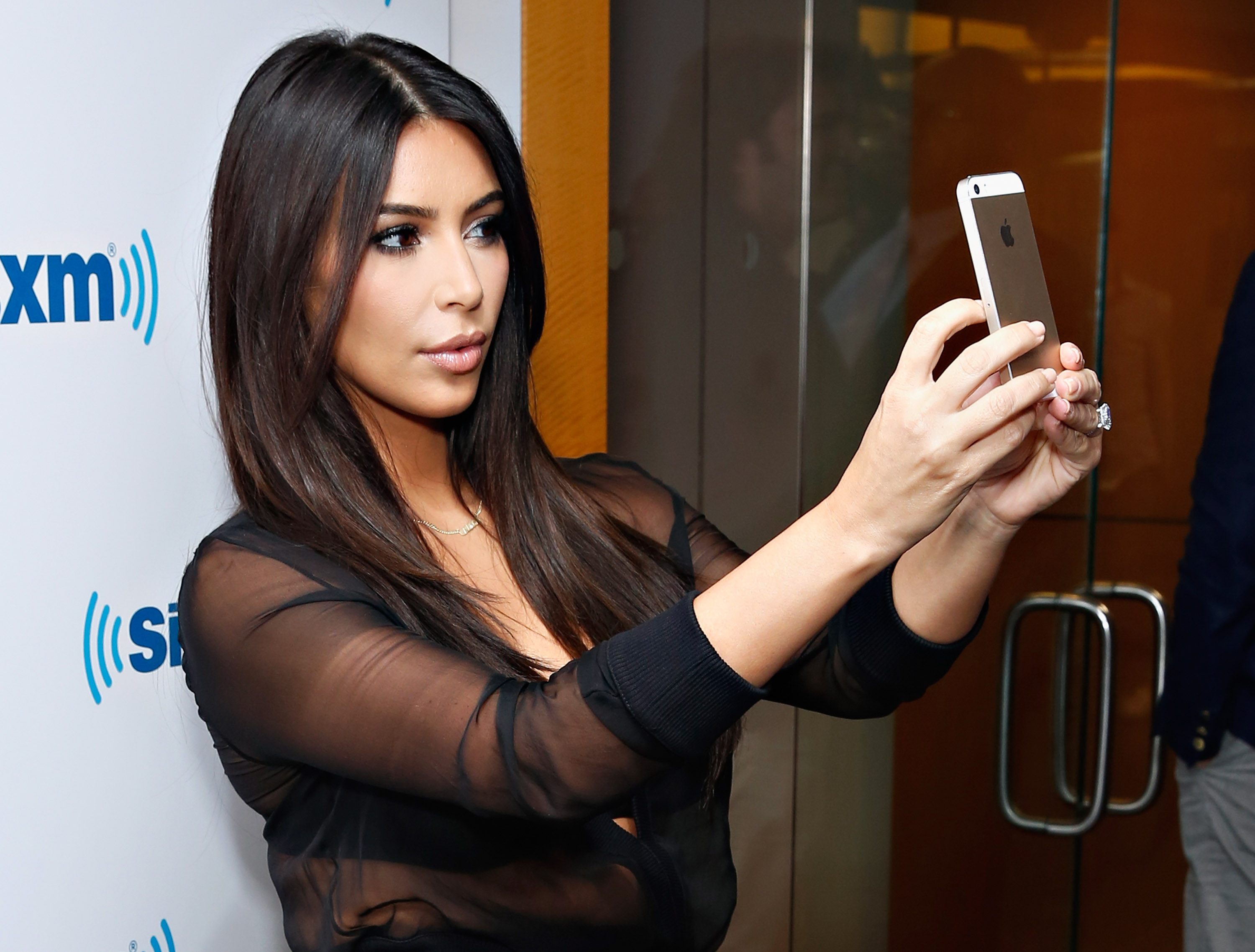 <> at SiriusXM Studios on August 11, 2014 in New York City.