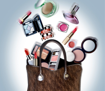 handbag cosmetic products