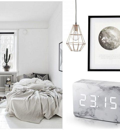 Shopping. 10 x spullen voor een minimalistische slaapkamer