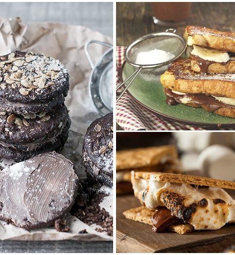 5 x desserten met Nutella