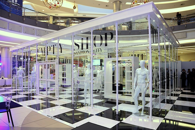 The Empty Shop in Zuid-Afrika