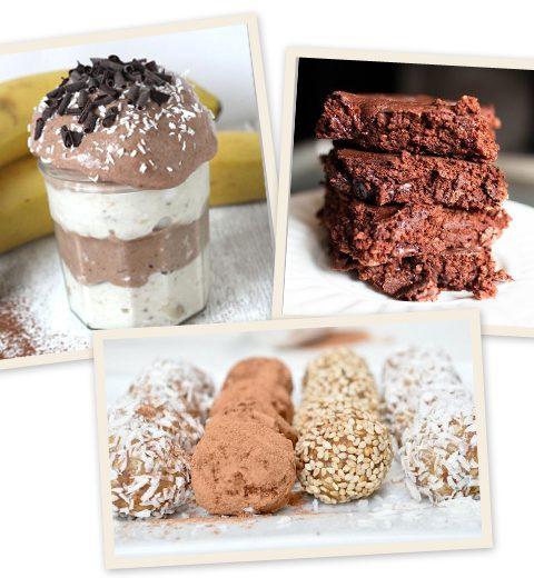 3 x gezonde desserts