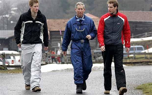 waar skiën de royals