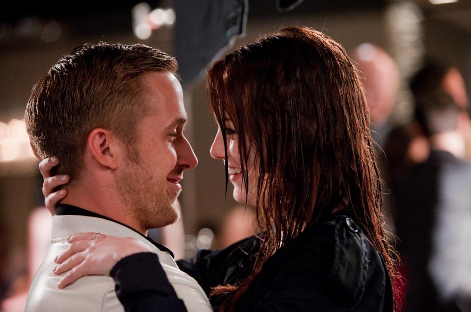 Emma Stone Ryan Gosling vals koppel 2