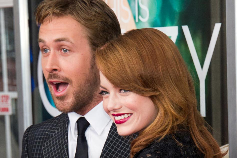 Emma Stone Ryan Gosling vals koppel 3