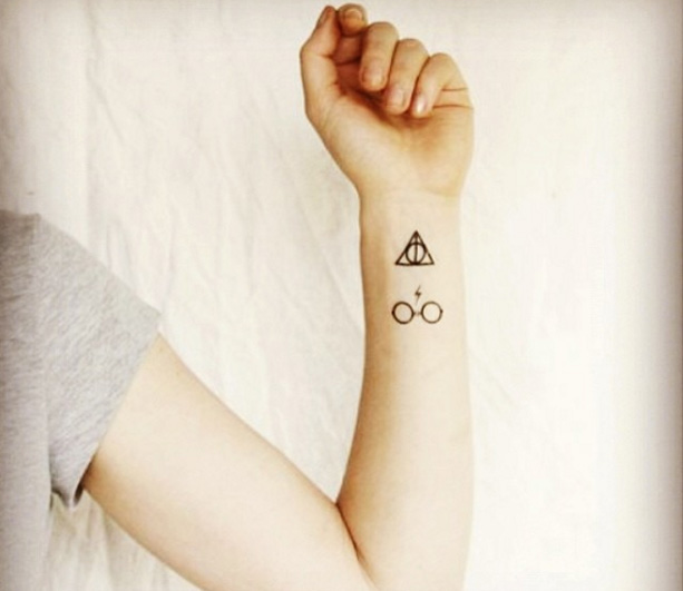 Harry Potter tattoo's