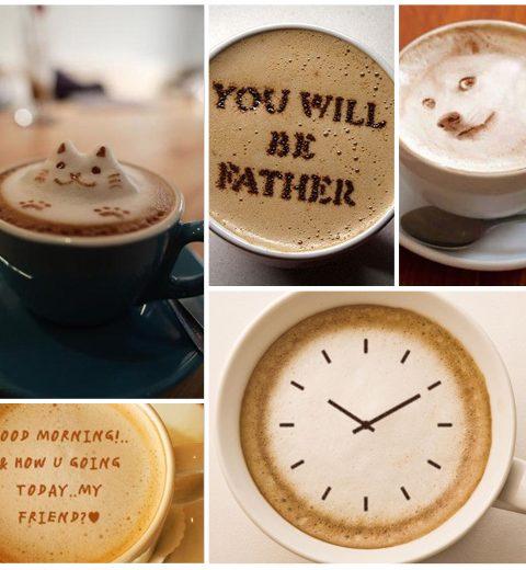 Pinspiration: 26 leuke ideetjes voor latte art