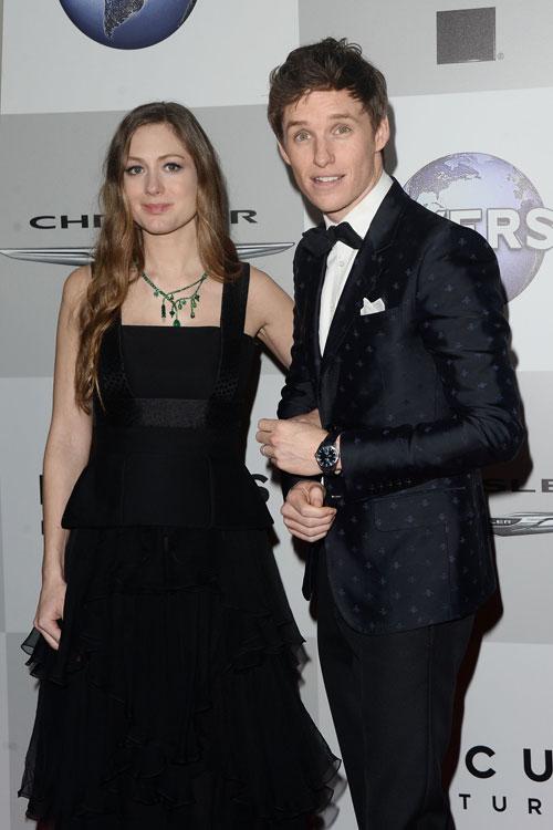 Britse acteur Eddie Redmayne en Hannah Bagshawe worden in 2016 voor de eerste keer ouders
