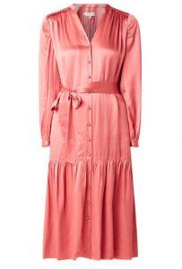 roze jurk satijn