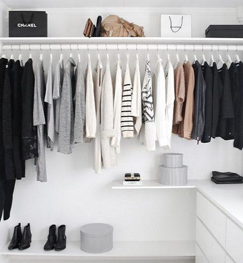 5 x tips voor het opruimen van je kledingkast