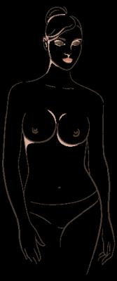 1 ronde borsten