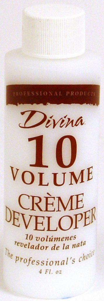 10 volume cream developer