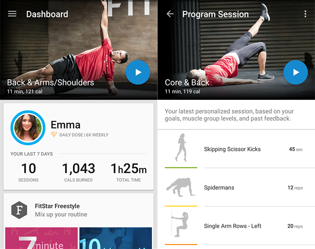FitStar-Personal-Trainer-Android