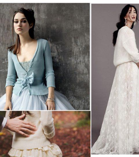 Pinspiration: bruiden met sweaters