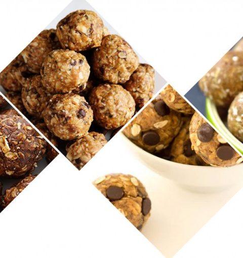 Healthy food: 3 x energieballetjes