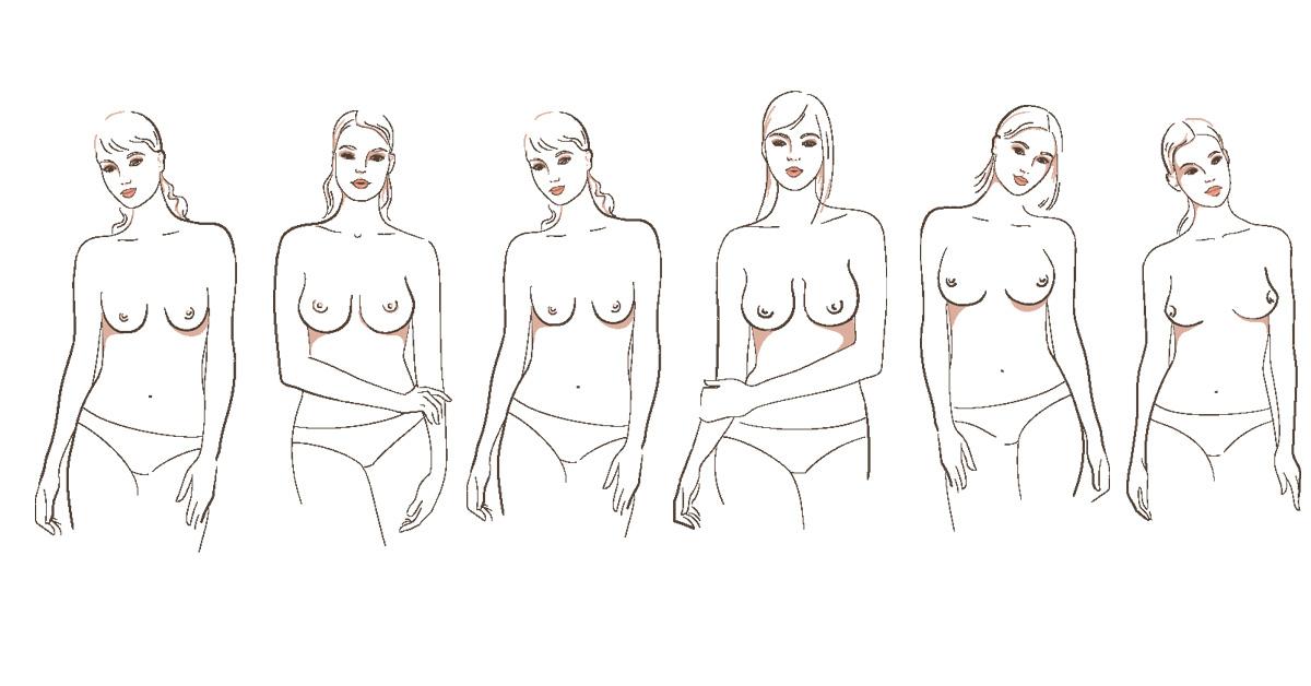 0c04972827e Welke BH past bij jouw vorm van borsten? - ELLE.be. >