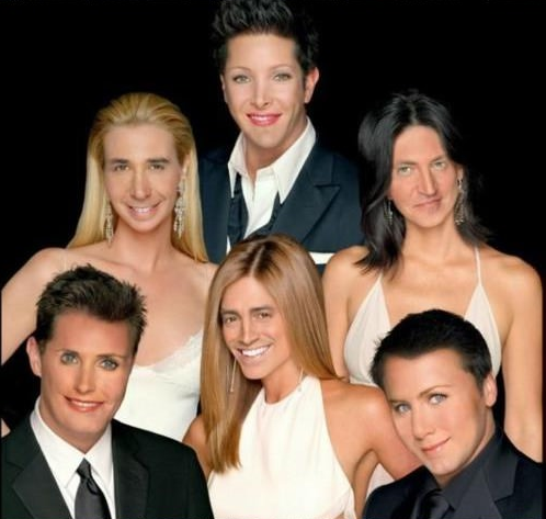 friends face swap
