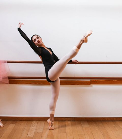 Ballet Workout: spring je benen slank