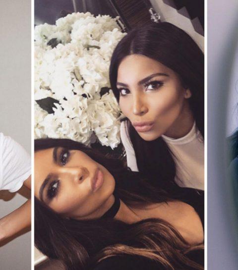 Bizar: Kim Kardashian gebruikt dubbelganger
