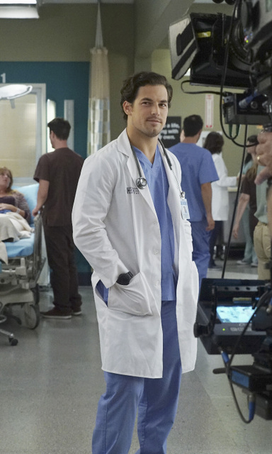 "GREY'S ANATOMY - ""I Choose You "" -- Maggie reevaluates her life choices after receiving an invitation to her ex-boyfriend's wedding; Richard questions Bailey's loyalty, and Jo confides in Stephanie about a secret she's been keeping from Alex. Meanwhile, Alex struggles with making a difficult decision that will affect the lives of newborn twins, on ""Grey's Anatomy,"" THURSDAY, OCTOBER 8 (8:00--9:00 p.m., ET) on the ABC Television Network. (ABC/Richard Cartwright) GIACOMO GIANNIOTTI"