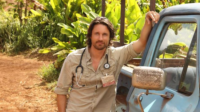 Martin Henderson Off the map