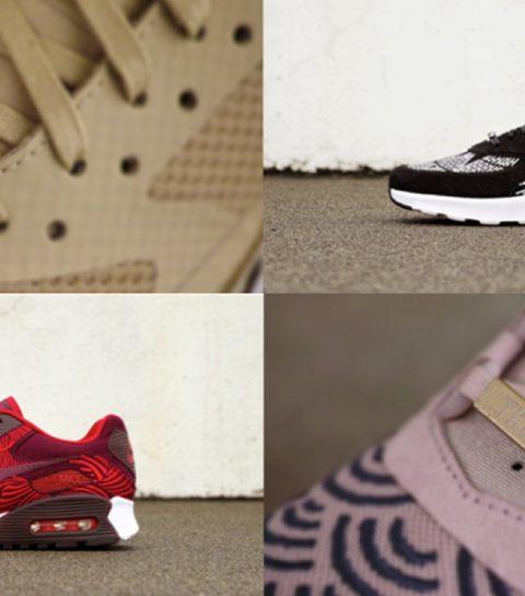 Nike ontwerpt sneaker voor elke hoofdstad