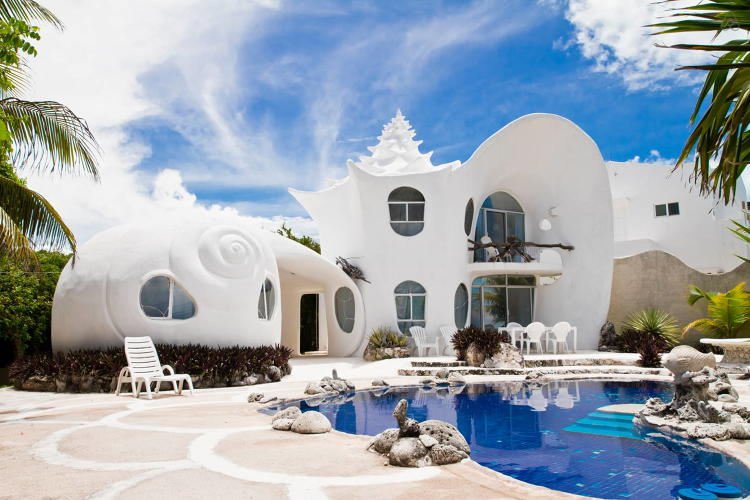 airbnb-seashell-house-mexico