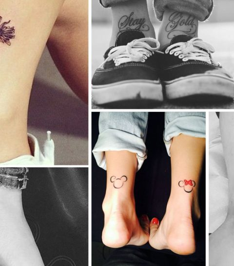 Pinspiration: 30 mini tattoos op je voeten
