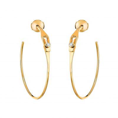 dinh_van_Earrings_Serrure_Jonc_yellow_gold_and_diamonds_1800eur