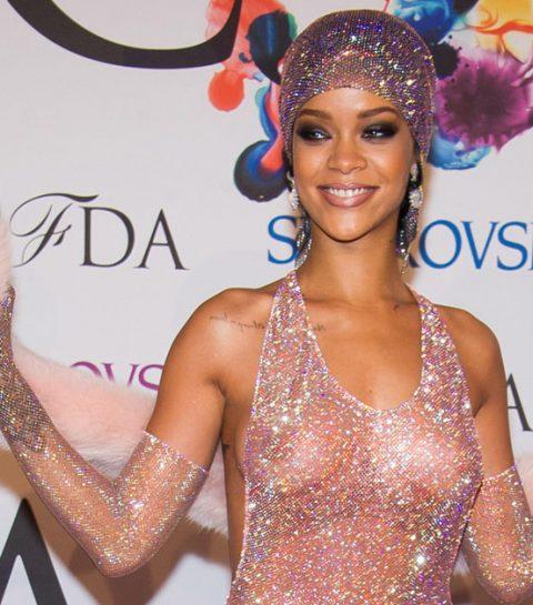 Rihanna heeft spijt van beruchte naked dress