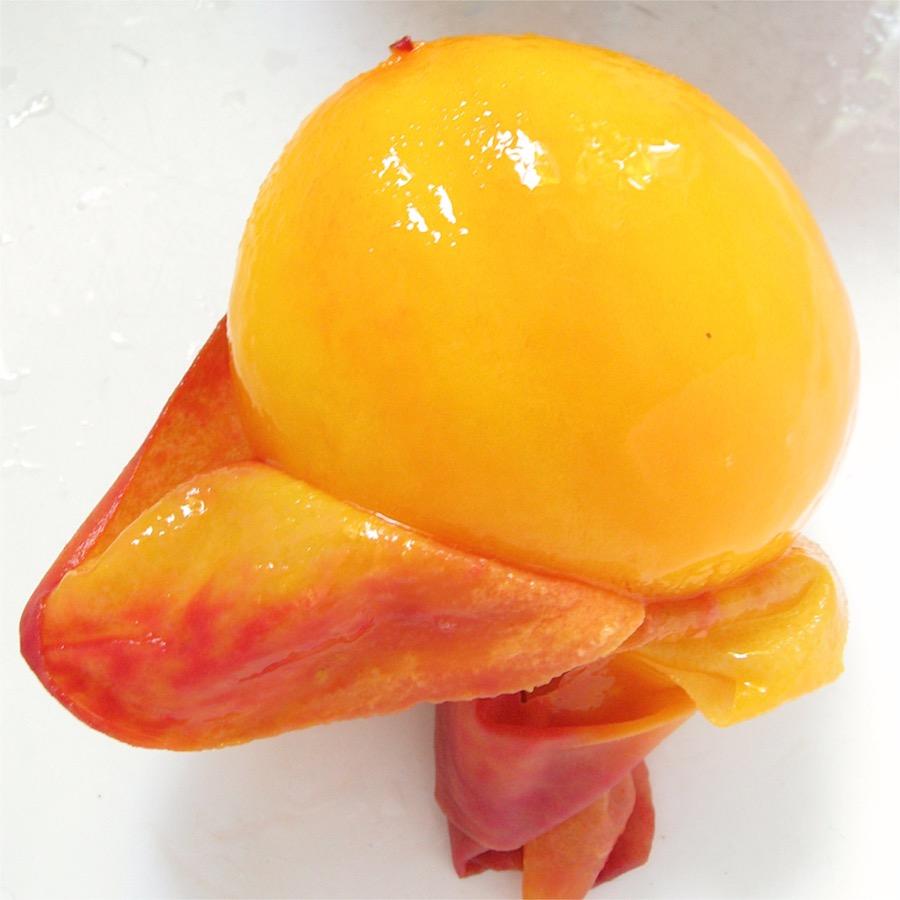 peach skin