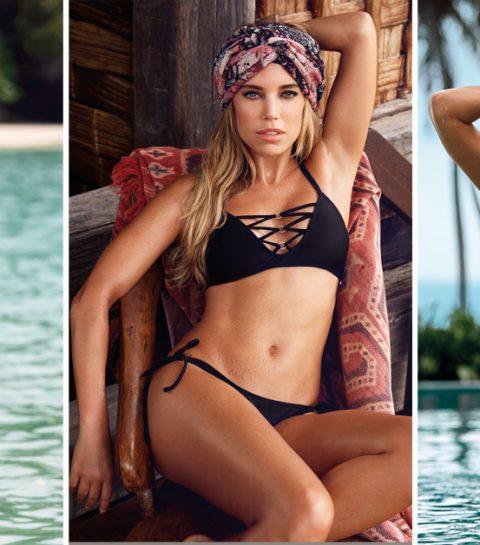 De bikini-etiquette van Sylvie Meis