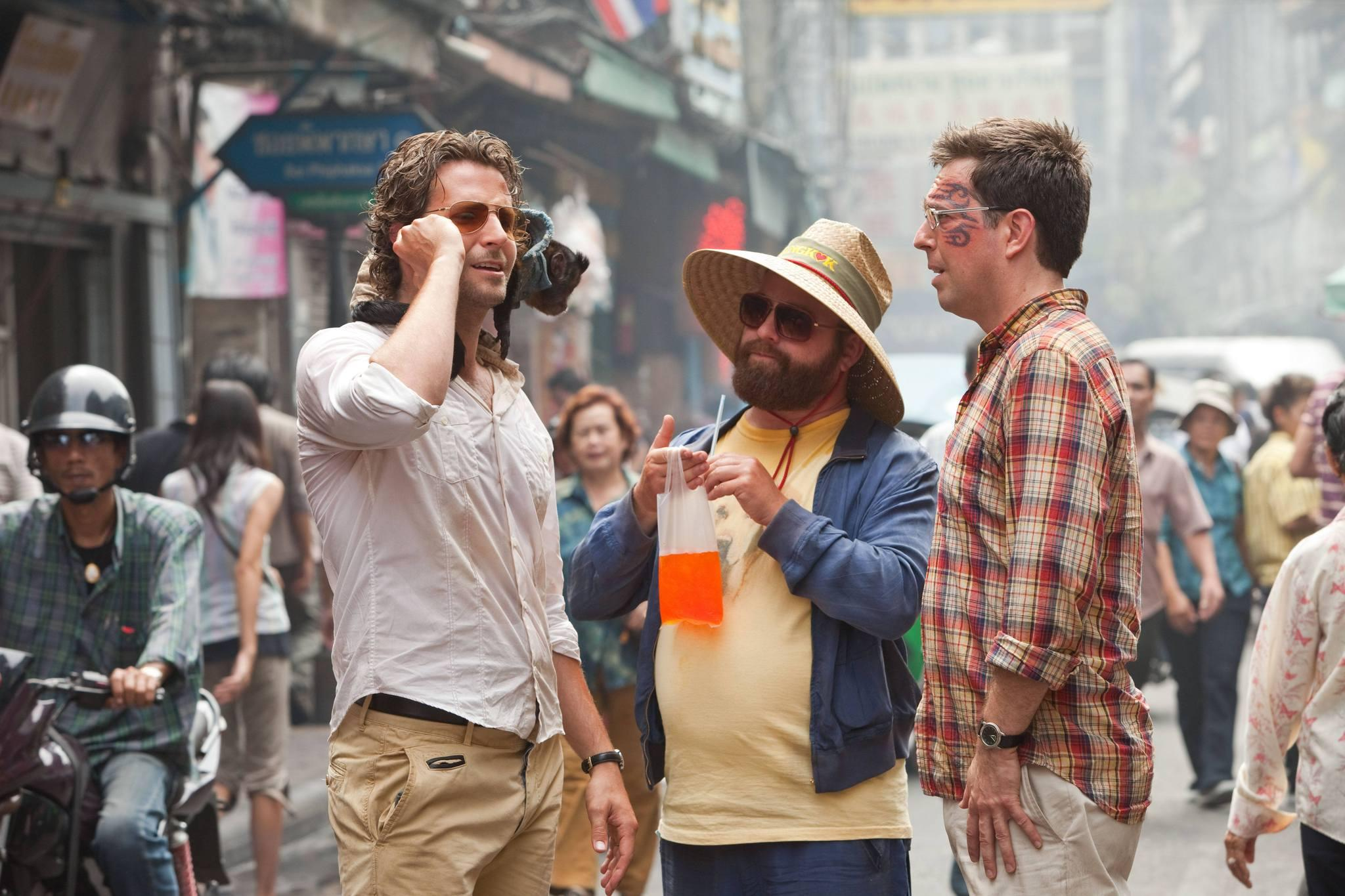 still-of-bradley-cooper,-zach-galifianakis,-ed-helms-and-crystal-the-monkey-in-the-hangover-part-ii-(2011)-large-picture
