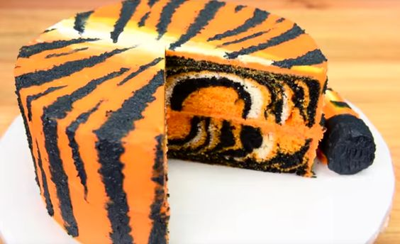 tijgercake