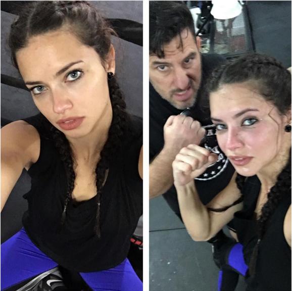 Adriana Lima Calzedonia sport bikini 6