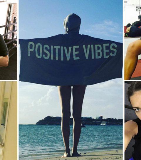 De workout etiquette van Adriana Lima