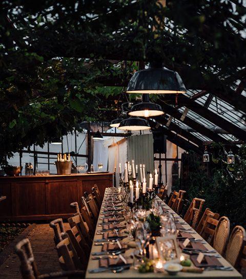 To do: dineren op ongewone locaties