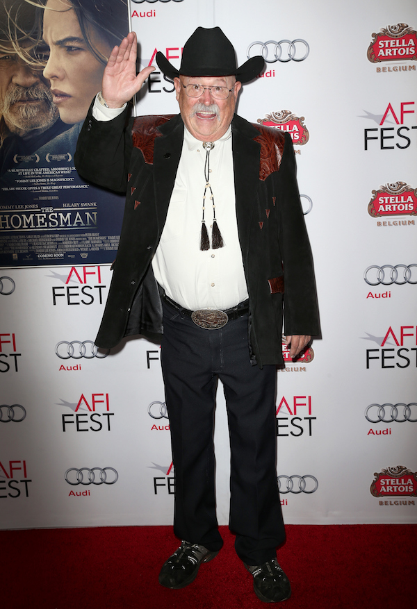 "attends the after party for ""The Homesman"" during AFI FEST 2014 presented by Audi at the Hollywood Roosevelt Hotel on November 11, 2014 in Hollywood, California."