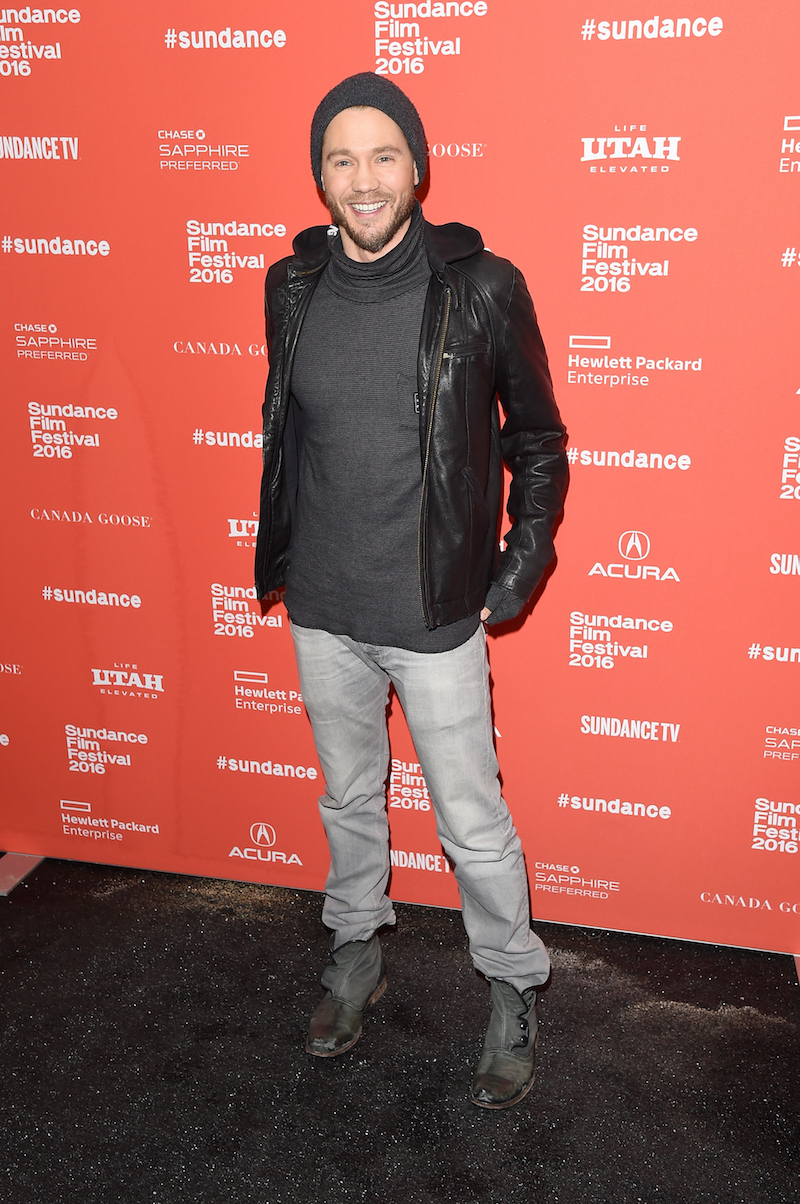 "PARK CITY, UT - JANUARY 25: Actor Chad Michael Murray attends the ""Outlaws & Angels"" Premiere during the 2016 Sundance Film Festival at Library Center Theater on January 25, 2016 in Park City, Utah. (Photo by Jason Merritt/Getty Images for Sundance Film Festival)"