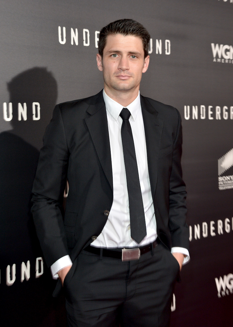 "LOS ANGELES, CA - MARCH 02: Actor James Lafferty attends WGN America's ""Underground"" World Premiere on March 2, 2016 in Los Angeles, California. (Photo by Charley Gallay/Getty Images for WGN America)"