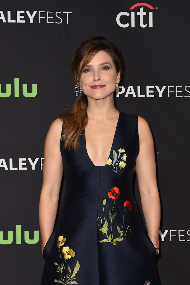 HOLLYWOOD, CA - MARCH 19: Actress Sophia Bush arrives at The Paley Center For Media's 33rd Annual PaleyFest Los Angeles presentation of 'An Evening with Dick Wolf with the stars of Law & Order: SVU, Chicago Fire, P.D., & Med' at Dolby Theatre on March 19, 2016 in Hollywood, California. (Photo by Emma McIntyre/Getty Images)