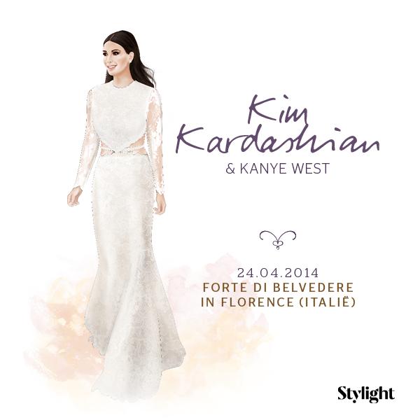 kim kardashian, wedding, trouw, givenchy