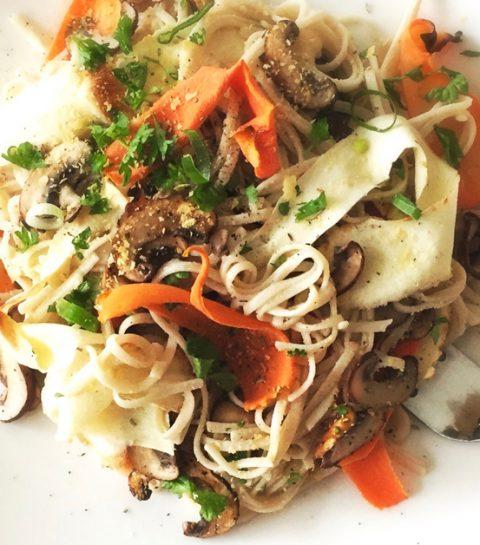 Vegan Comfort Food: Romige Rijstnoedels