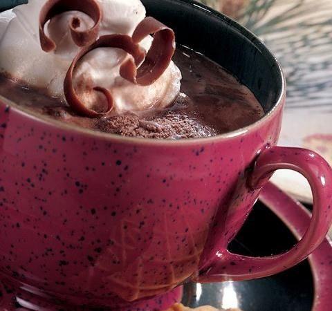 Smeuïge chocolade-hazelnootkoffie