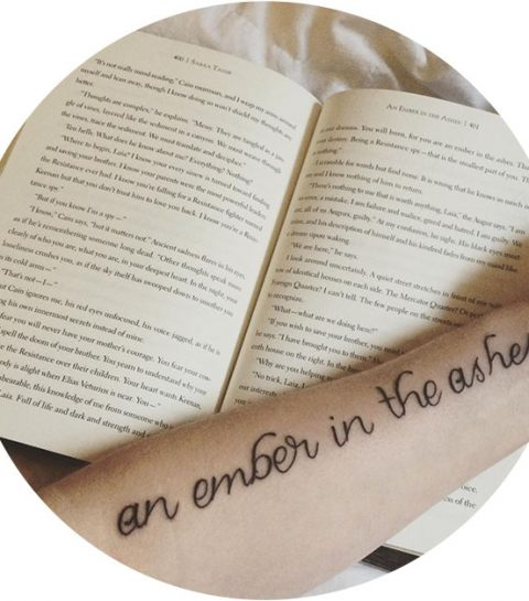 Pinspiration: de mooiste book quote tattoos
